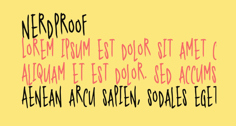 Nerdproof