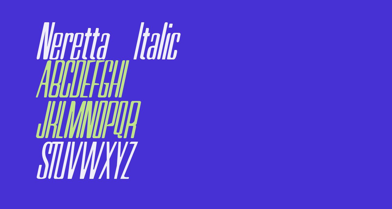 Neretta Italic