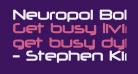 Neuropol Bold