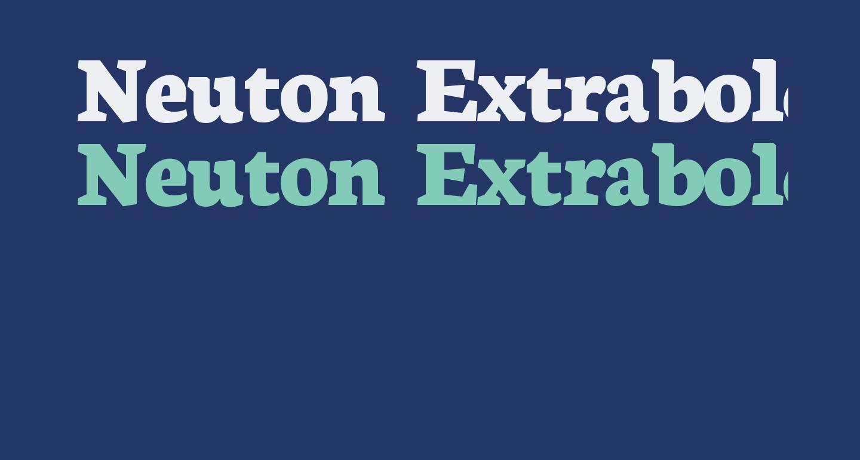 Neuton Extrabold