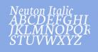 Neuton Italic