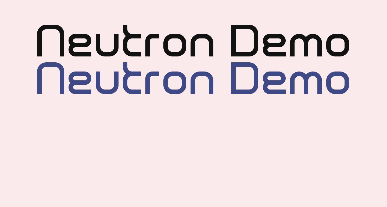 Neutron Demo