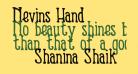 Nevins Hand