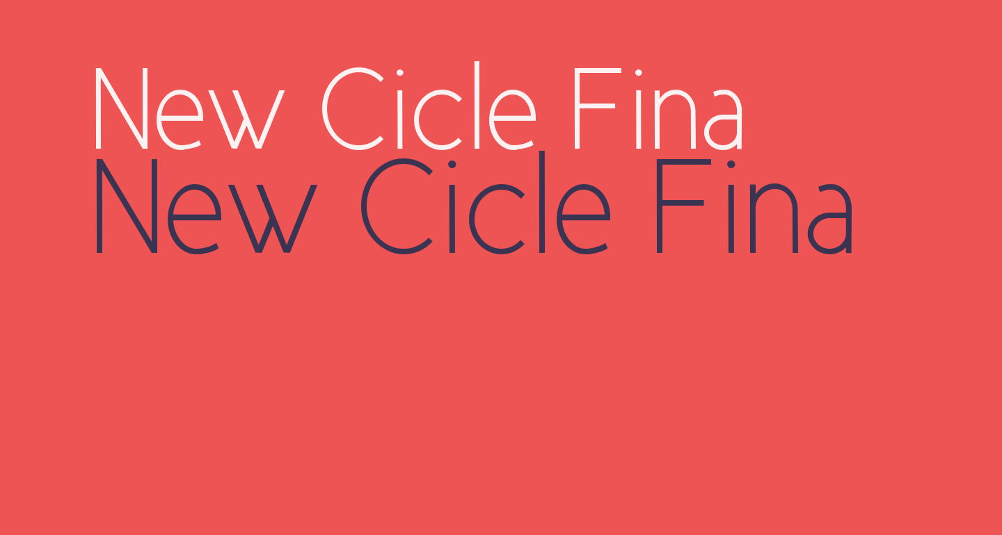 New Cicle Fina