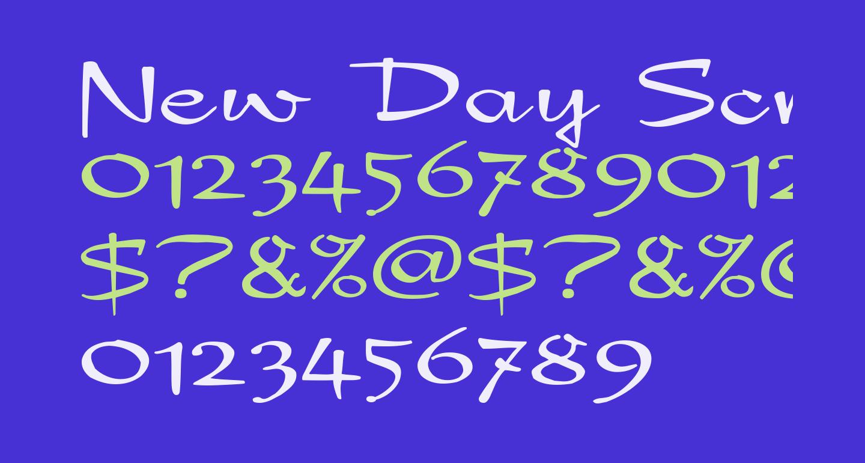 New Day Script