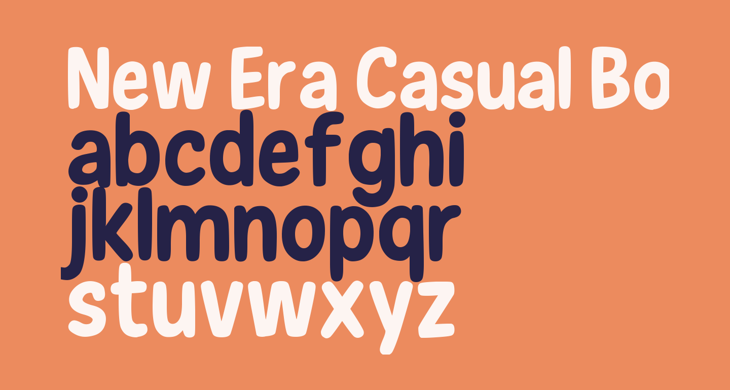 New Era Casual Bold