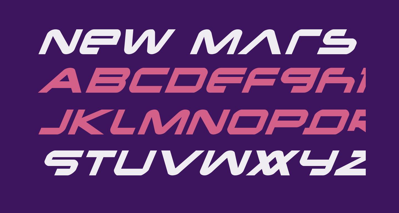 New Mars Italic