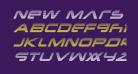 New Mars Scanlines Italic