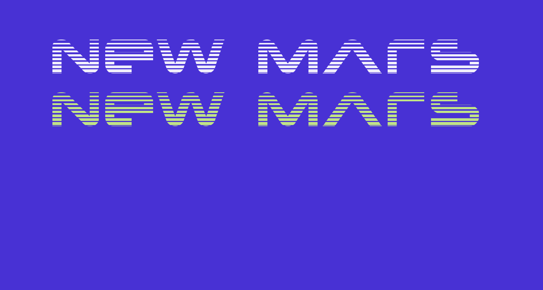 New Mars Scanlines