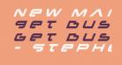 New Mars Title Italic