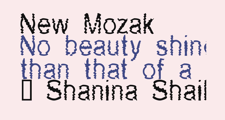 New Mozak