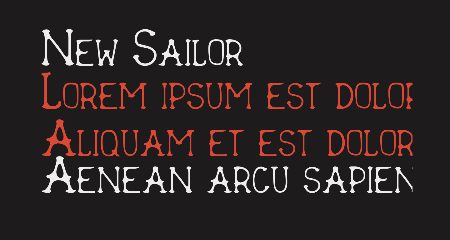 New Sailor