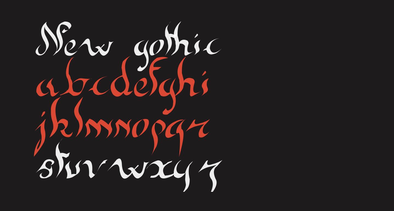 New gothic