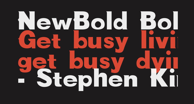 NewBold Bold