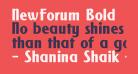 NewForum Bold