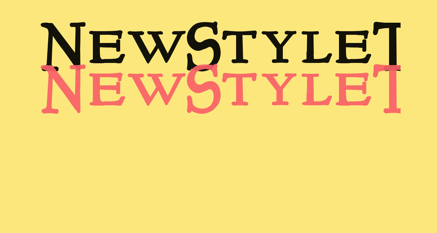 NewStyleTitling Bold