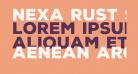 Nexa Rust Sans Black