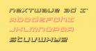 Nextwave 3D Italic
