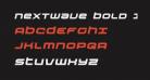 Nextwave Bold Italic