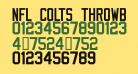 NFL Colts Throwback
