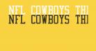 NFL Cowboys Throwback