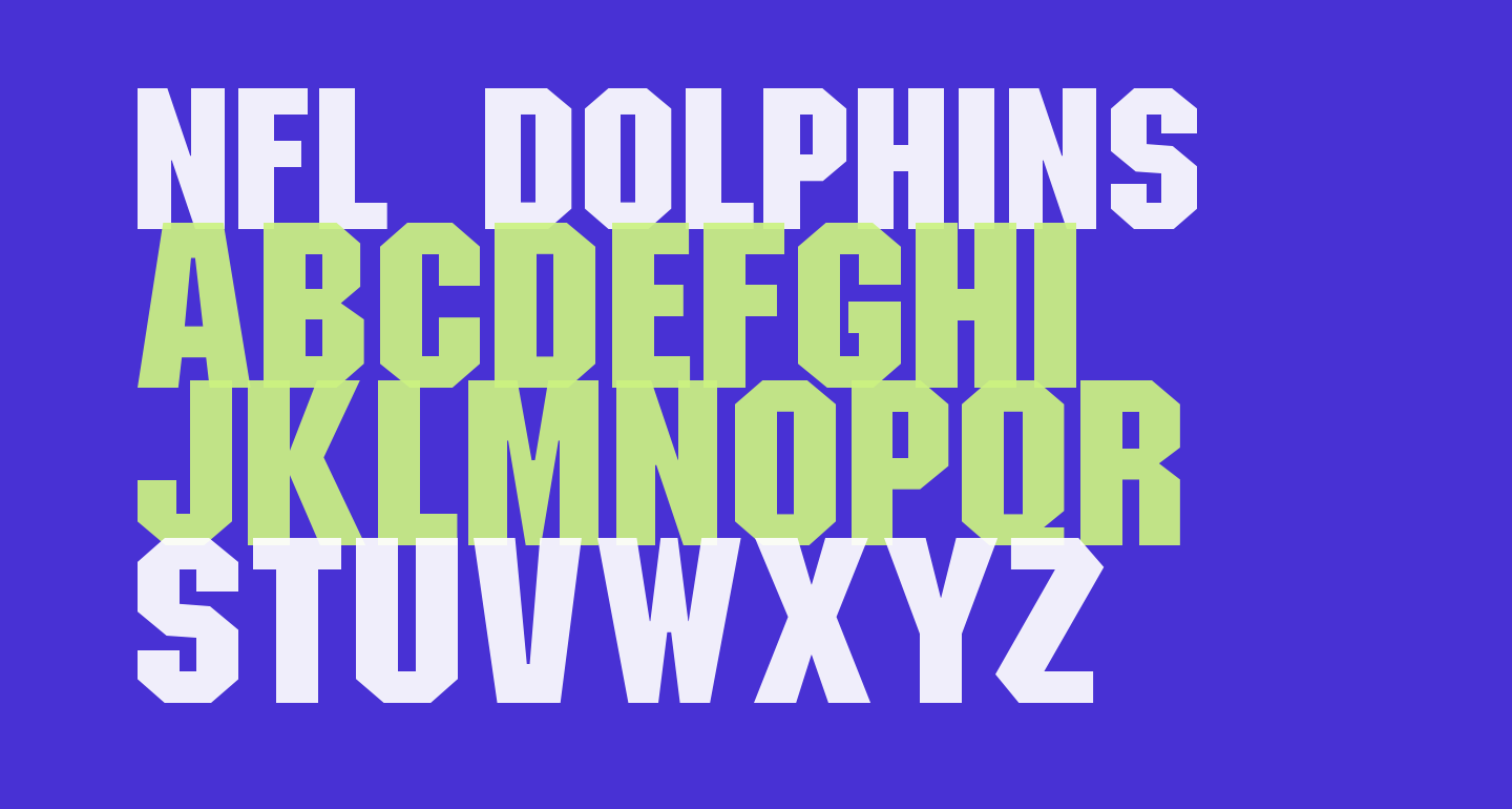 NFL Dolphins