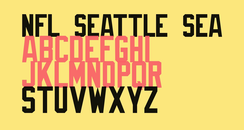 NFL Seattle Seahawks Flat