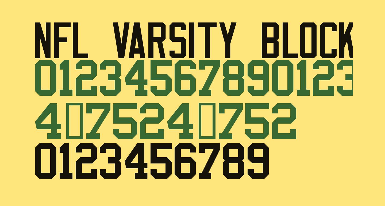 NFL Varsity Block B