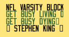 NFL Varsity Block D