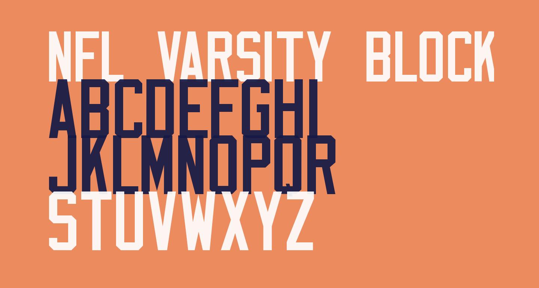 NFL Varsity Block F