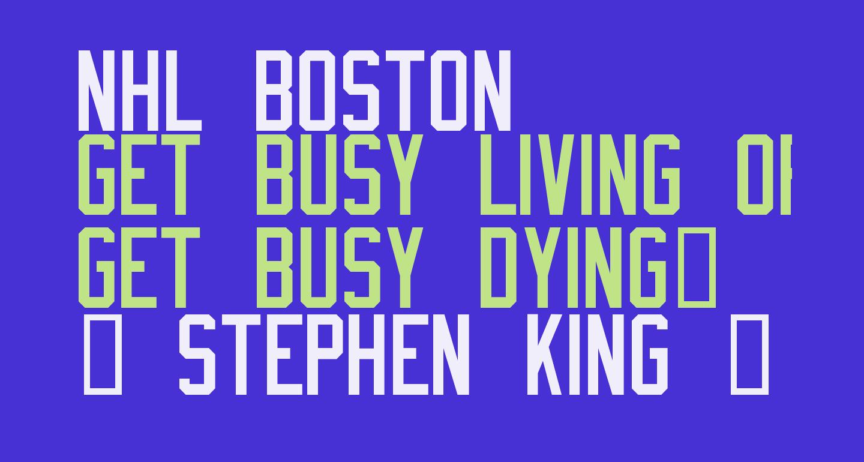 NHL Boston