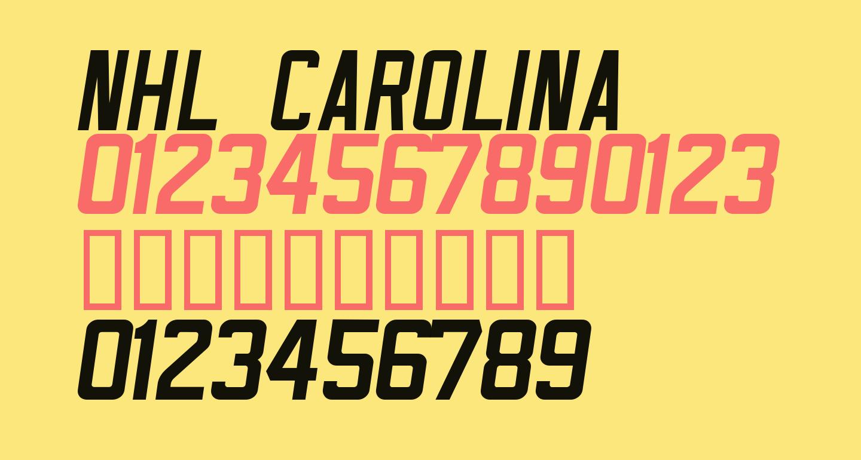NHL Carolina
