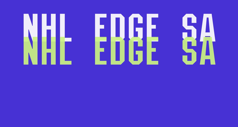 NHL Edge San Jose