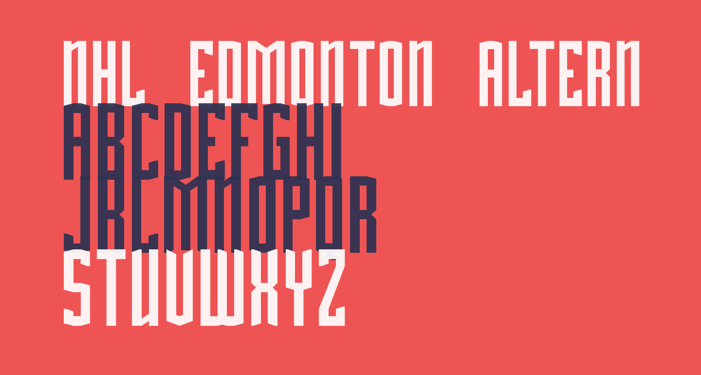 NHL Edmonton Alternate