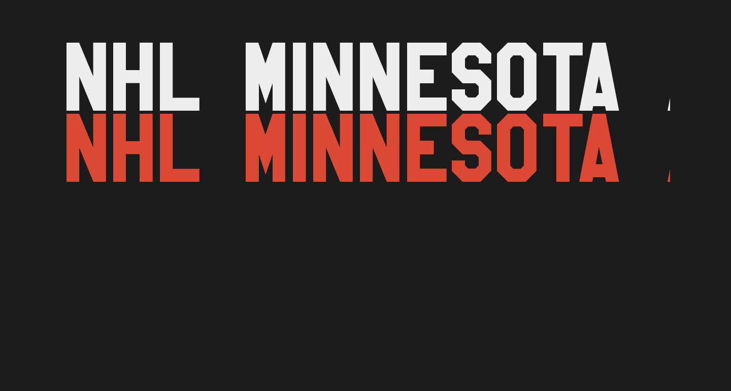 NHL Minnesota Alternate