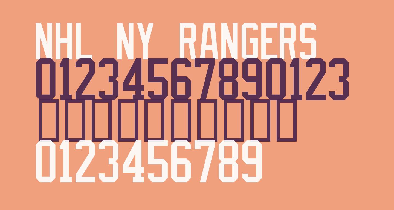 NHL NY Rangers