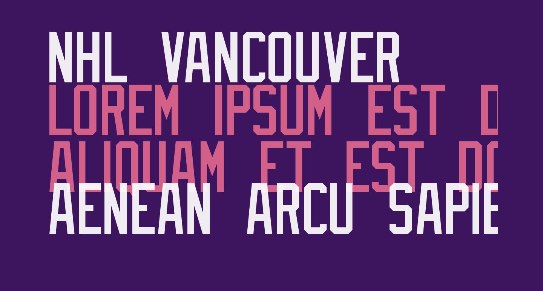 NHL Vancouver