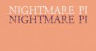NIGHTMARE PILLS