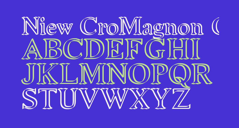 Niew CroMagnon Callig