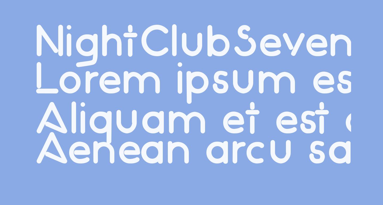 NightClubSeventy-Bold