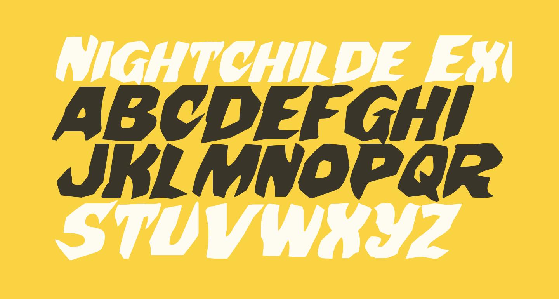 Nightchilde Expanded Italic