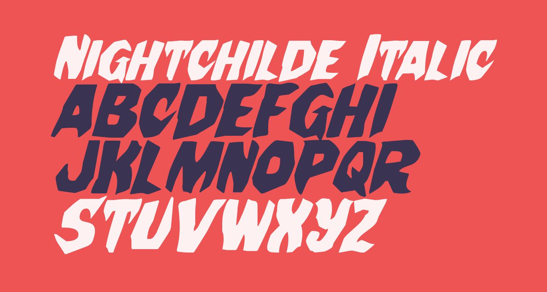 Nightchilde Italic