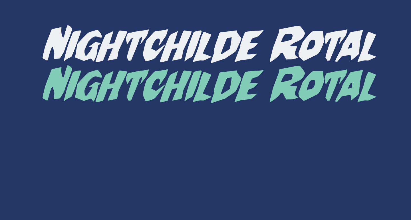 Nightchilde Rotalic