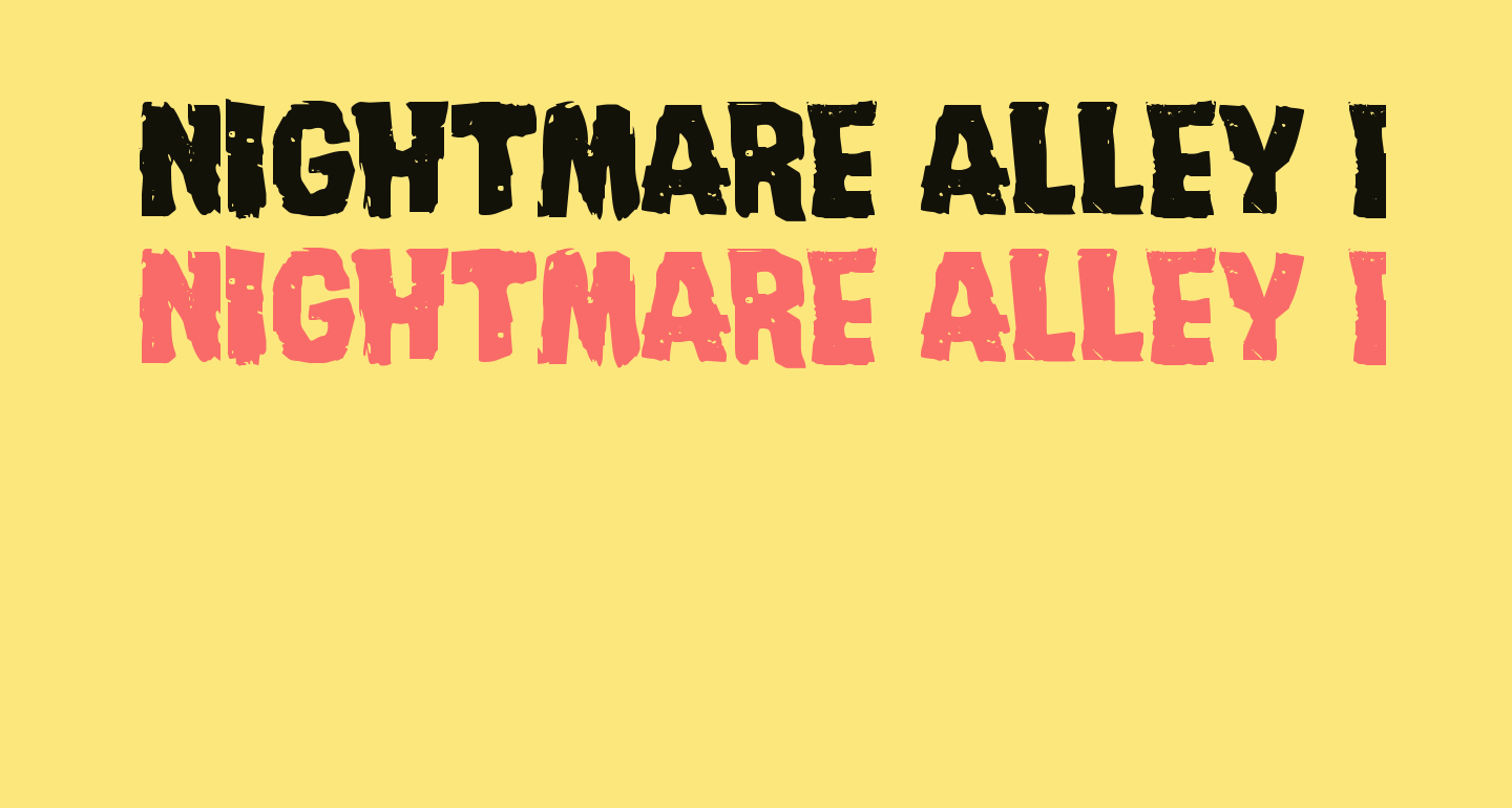 Nightmare Alley Expanded