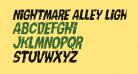 Nightmare Alley Light Italic