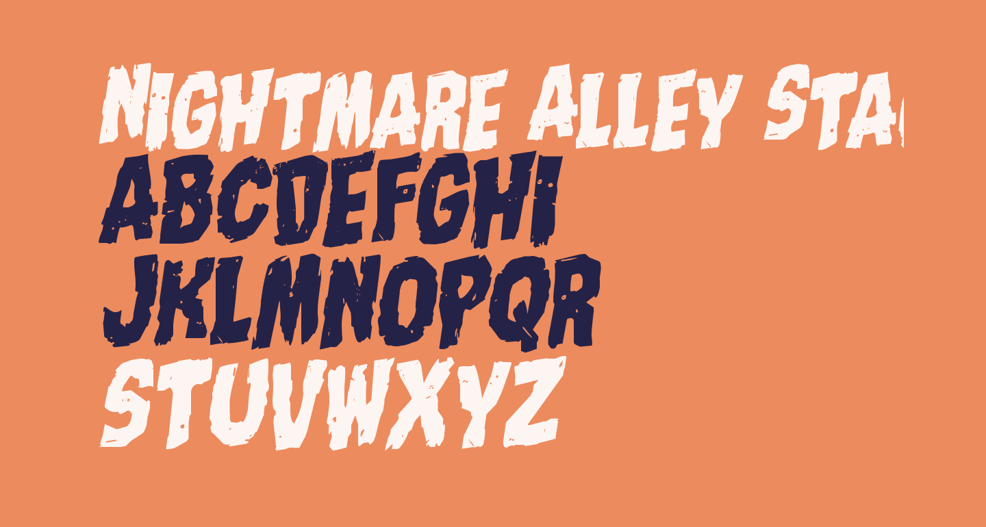 Nightmare Alley Staggered Rotalic