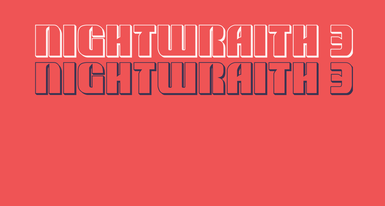 Nightwraith 3D Regular