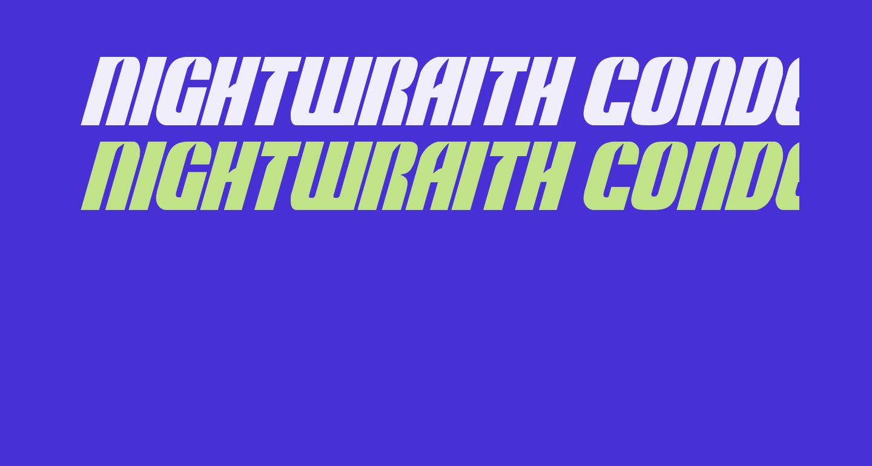 Nightwraith Condensed Italic