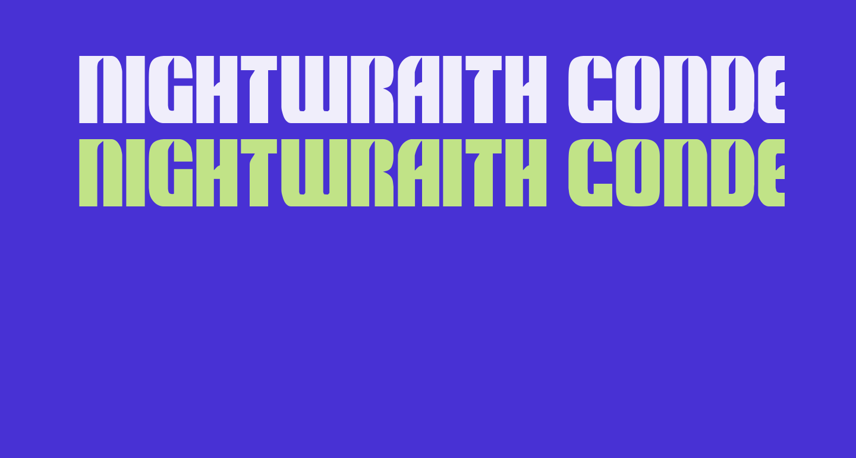 Nightwraith Condensed