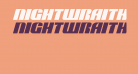 Nightwraith Expanded Italic